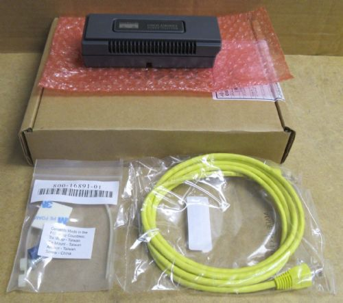 New Cisco AIR-PWRINJ3 Aironet Power Injector For 1100, 1130AG, 1200  48V 2x RJ45